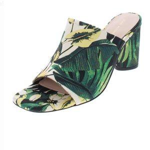 Stuart Weitzman Floral Slides